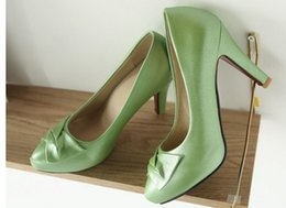 Fine Princess Shoes Canada - Ms high-heeled shoes waterproof Taiwan fine documentary in spring and summer shoes female pointed shallow mouth sweet princess big yards