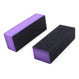 $enCountryForm.capitalKeyWord Canada - Wholesale- Best Sale Black Purple 4 Way Nail File Art Shiner Polish Buffer Buffing Block 2x