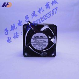 intel speed UK - New original NMB 2415KL-04W-B79 6038 12V 1.50A three wire speed violent fan