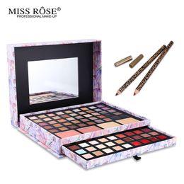 $enCountryForm.capitalKeyWord UK - Wholesale- 1 Set Brand Deluxe Portfolio Makeup Cosmeic Set Eyeshadow Blusher Concealer Lipstick Lip Pencil In one Box Make Up Set Miss Rose