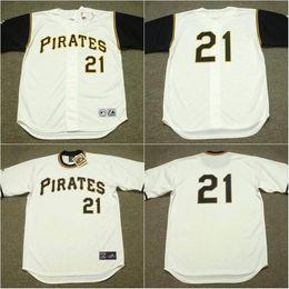 online store 20fef 17f43 greece pirates 21 roberto clemente white baseball mlb ...