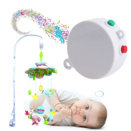 Discount new songs - New 12 Melodies Song Baby Kids Mobile Crib Bed Bell Electric Autorotation Music Box