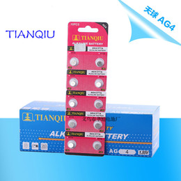 venda por atacado Atacado-10pcs / Lot AG4 GA4 SR626 376 377 565 D377 LR626 LR66 SR66 celular Botão Coin bateria de lítio para relógios, calculadoras 1.5V