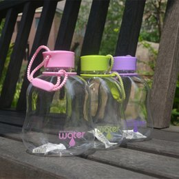 Wholesale Water Bottles For Kids Canada - Wholesale- NEW My Favorite Water Bottle Leak-Proof Seal (400ml) BPA FREE Plastic Water Cup Portable School Mothers Choice For Kids