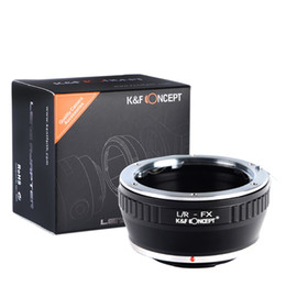 Chinese  Wholesale- Lens Adapter Ring For Leica R Series Lens To Fujifilm X Mount Fuji X-Pro1 X-M1 X-E1 X-E2 M42 X-T1 Manual Focuse To Infinity manufacturers
