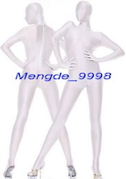 $enCountryForm.capitalKeyWord Canada - Unisex Full Body Suit Outfit White Lycra Spandex Catsuit Costumes Unisex Cosplay Costumes Sexy Bodysuit Catsuit Halloween Cosplay Suit M044