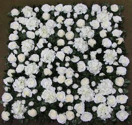 $enCountryForm.capitalKeyWord Canada - Artificial flower wall wedding backdrop rose new hydrangea peony leaves lawn pillar road lead decoration