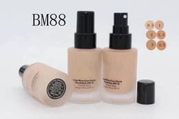 Ml control online shopping - hot selling new brand Makeup top quality ml newest long wear even finish foundation spf15