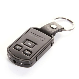 keychain motion Australia - FULL HD Car Key camera Z4 1080P IR Night Vision Motion Detection Mini Keychain DVR audio video recorder MINI DV with retail package