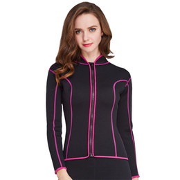 e133c5e14d Hot selling 2mm neoprene female long sleeve diving jacket sexy tight diving  wetsuit pink and black