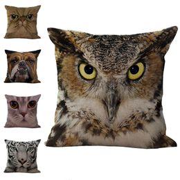 $enCountryForm.capitalKeyWord Canada - Cute Animal Dog Cat Owl Throw Pillow Cases Cushion Cover Pillowcase Home Sofa Square Pillow Case Pillowslip Textiles Christmas Gift 240425