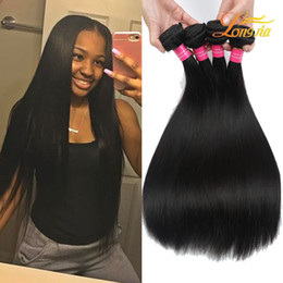 Peruvian mongolian hair grade 7a online shopping - Factory Grade A Virgin Human Hair Straight Price Brazilian Peruvian Malaysian Mongolian Hair Weft Straight Natural Colorl