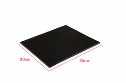 $enCountryForm.capitalKeyWord UK - 17.8*11.8inch Rectangle Rubber Beer Bar Service Spill Mat for table 45cm black waterproof pvc mat kitchen glass coaster placemat