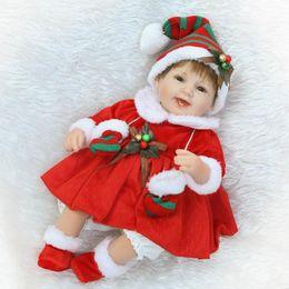 $enCountryForm.capitalKeyWord Canada - Recycling Doll Toy Gift 16 Inch Christmas Gift Baby Doll Reborn Lifelike Vinyl Girl Silicone Fast Delivery