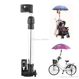 $enCountryForm.capitalKeyWord Canada - Useful Baby Buggy Pram Stroller Umbrella Holder Mount Stand Handle Black L00096 FASH