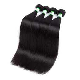 26 7a Grade Hair UK - Factory Wholesale Brazilian Hair Grade 7A High Quality Silky Straight Indian Hair Bundles Malaysian Peruvian Virgin Hair Bella