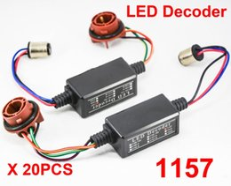 Flash decoder online shopping - 20x A B Contact Hi Power LED Bulb Error Free Canbus Canceler Adapter Decoder Fog Turn Brake Anti Hyper Flash Blinking