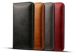 "Lg Android Cases Canada - Fashion Multifunctional PU Leather Calf Skin Card Holder Wallet Case Bag for 4.7""-5.5"" iPhone 7 7plus Android Samsung Sony HTC"