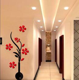 3D Flower Beautiful DIY Mirror Wall Decals Stickers Art Home Room Vinyl  Decor Part 45