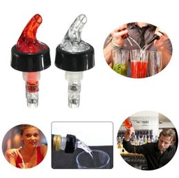 Discount red wine drinks - Plastic Bottle Pourer 30ml Measuring Drink Red Wine Liquor Dispenser Shot Cocktail Dispenser Home Bar Tools OOA3166