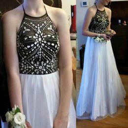 Discount apple green wedding - Crystal Beadin Prom Dress,Halter Floor Length Prom Dresses,Sexy Prom Dress Evening Dress,Long Evening Dress,Wedding Part