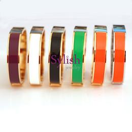 Black titanium Bracelets online shopping - Fashion Clsssic Jewelry H Letter Black Bangle For Women Men Gold plated Wristhand Belt Bangles Cuff Buckle love Bracelets