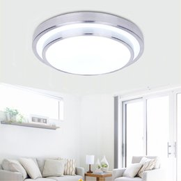Round Double Side LED Ceiling Light Bedroom Lamp Indoor Lighting 12W 18W  24W Cool White Warm White Dimmable Ceiling Light Cheap Bedroom Side Lamps