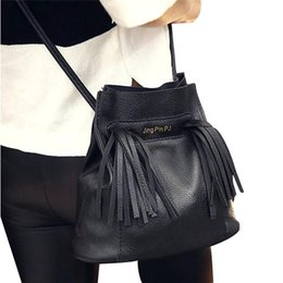 Nice- Excellent Quality Vogue Women Shoulder Bag Handbag Leather Tassel  Solid Women Crossbody Messenger Bags Famous Brand Bolsa 09f07c3af025f
