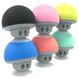 China Cartoon Mashroom Mini Bluetooth Speaker Portable Outdoor Subwoofers Loudspeaker For iphone tablet pc suppliers