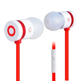 Discount cell phones microphone - newest coolest Plextone X38M Stereo In-ear earphones wire-controlled noodle line headphone support microphone for moblie