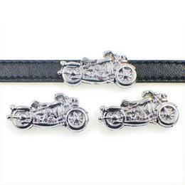 Slide Belts Fit Canada - Free shipping wholesale price 8mm Motorcycle slide charms fit for 8mm wristband belt pet collar SL211