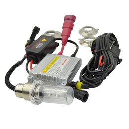 Chinese  Motorcycle hid xenon Kit headlight H4 H6 BA20D Hid Lights Hi Low Bulbs Bicycle Bike xenon lamp Light 12V 35W manufacturers
