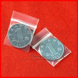 "Mini Zip Lock Bags Canada - Clear Resealable Plastic Bags 500pcs 2x2.5cm Clear Pe Micro Zip Lock Bags 0.8""x1"" Mini Reuseable Ziplock Baaggies 8mil"