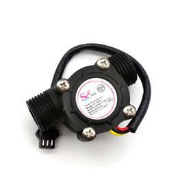 Flowmeter Sensor Canada - Water Flow Sensor Flowmeter Hall Flow Sensor Water Control 1-30L min 2.0MPa YF-S201