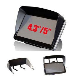 Black Blocks Canada - GPS Navigation Accessories 4.3   5   7   Inch Frame GPS Universal Sunshade Sun Shade GPS Screen Visor Hood Block