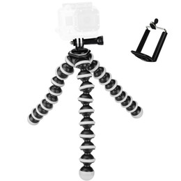 Tripod online shopping - Large Universal Octopus MINI Tripod Stand Flexible Gorillapod Tripods Stander for Camera iPhone S Samsung Android Phone MOQ