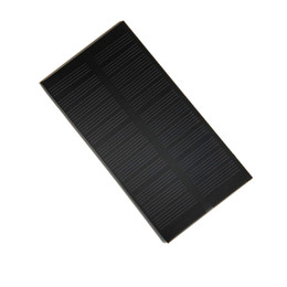 mp5 module NZ - High Quality 6V 1W Solar Cell Monocrystalline Solar Panel Module DIY Solar System Charger Education Kits 125*63*3MM Free shipping