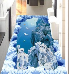 $enCountryForm.capitalKeyWord Canada - 3d floor wallpaper Iceberg ice and snow days 3d wallpapers for wall floor Custom 3d room wallpaper landscape