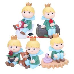 $enCountryForm.capitalKeyWord NZ - NEW hot 5pcs set The Adventures of the Little Prince 8cm PVC Figure Collectible Toy Phone Accessories