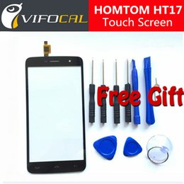 $enCountryForm.capitalKeyWord Canada - Wholesale- HOMTOM HT17 Pro touch screen 100% New Digitizer Glass Panel Replacement repair accessory For HOMTOM HT17 Mobile Phone