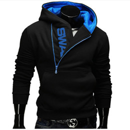 männer assassins creed jacke großhandel-Fashion Hoodies Männer Sweatshirt Anzug Männer Zipper Kapuzenjacke lässige Sportswear Moleton Masculino Assassins Creed Plus Size