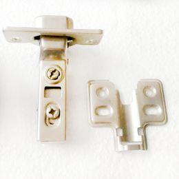 stainless steel door hinge damping hydraulic buffer hinge hardware cabinet door aircraft pipe hinge half cover