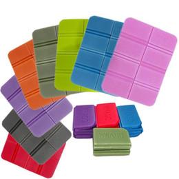 New XPE Cushion Folding Portable Small Cushion Moisture-proof Waterproof Outdoor Camping Park lawn Cushion Pad Gaddi Mat on Sale