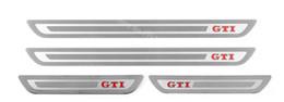 Acessórios do carro Para VW Volkswagen Golf 6 GOLF 7 GTI R MK6 2012 2013 2014 2015 Porta Sill Scuff Guards Sills Placa Adesivos venda por atacado