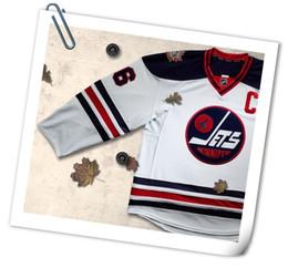 a000bab9e ... 2016 Winnipeg Jets Heritage Classic Hockey Jerseys 29 Patrik Laine 55  Mark Scheifele 33 Dustin Byfuglien ...
