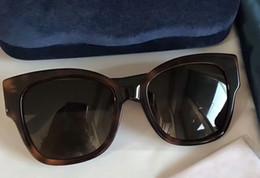6cf5a6016 G Shield NZ - Women Designer Havana Brown Acetate Square 0059 S Sunglasses  Studs Interlocking G