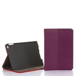 Discount wholesale mini ipad covers - DOLMOBILE PU Leather Case Cover with Stand for iPad Mini 4 Mini4 Smart Wallet Hand Holder Grip Shell with Card Slots 50p