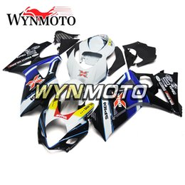 Black White Motorbike Fairing Canada - Fairings For Suzuki GSXR1000 K7 Year 2007 2008 07 08 Injection ABS Plastic Bodywork Motorcycle Fairing Cowling Motorbike Black White Blue