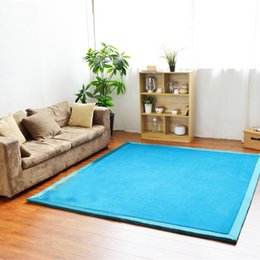 Hot Sales Soft Carpet Living Room Bedroom Floor Mats Comfortable Area Rug Solid Colors 80200 130190cm JI0207 Deals