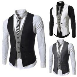 5e68836d3ffd5 White suit orange Waistcoat online shopping - Dress Vests For Men Slim Fit  Mens Suit Vest